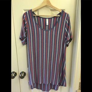 Lularoe Striped Tunic